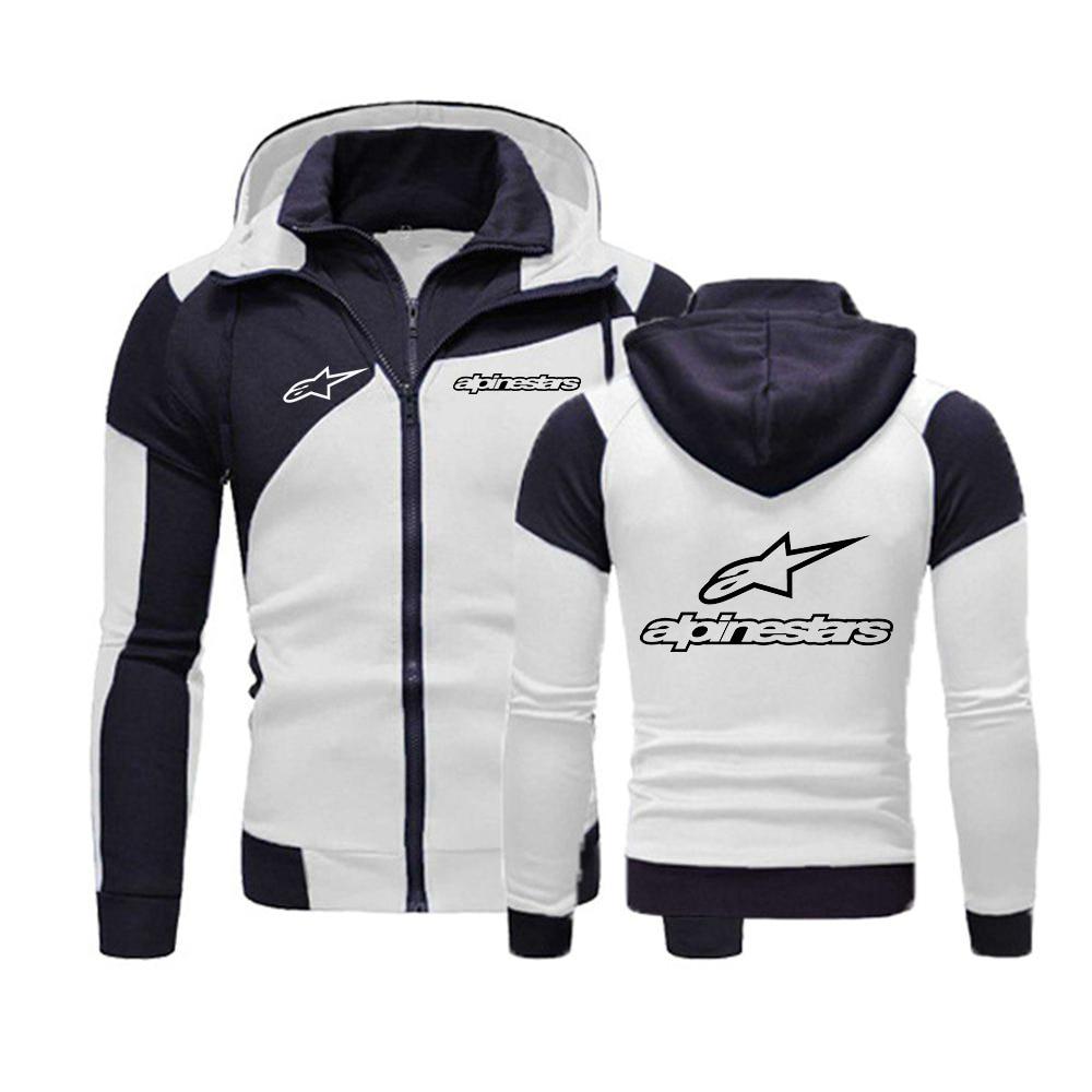 Jacket Men Hoody Clothing Sportwear Spring Cotton Sweatshirt Zipper Fleece Harajuku Male