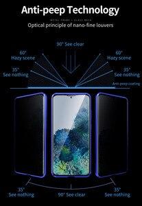 Image 2 - Funda de privacidad para Samsung Galaxy S20, protector de vidrio templado Ultra magnético para Samsung Note 10 S10 S20 Plus S10E