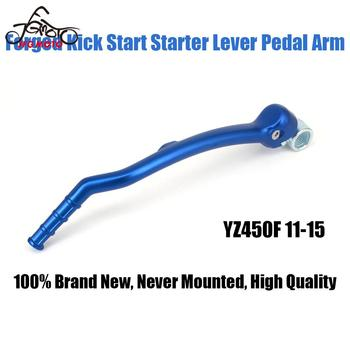 Aluminum Forged Kick Start Lever Pedal For YAMAHA YZ450F YZ 450F 2011 2012 2013 2014 2015 11 12 13 14 15 Motorcycle