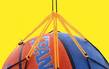 30 # siatka nylonowa torba piłka Carry Mesh siatkówka koszykówka piłka nożna piłka do piłki nożnej koszykówka siatkówka piłka nożna lub dowolne piłki tanie i dobre opinie CN (pochodzenie) Inne as show