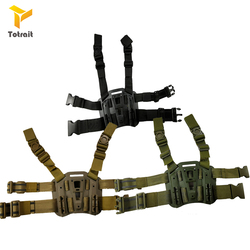 TOtrait akcesoria wojskowe kabura platforma wiosła do glocka 17 HK USP P226 kompaktowy Berata M9 Arisoft strzelanie kabura uda