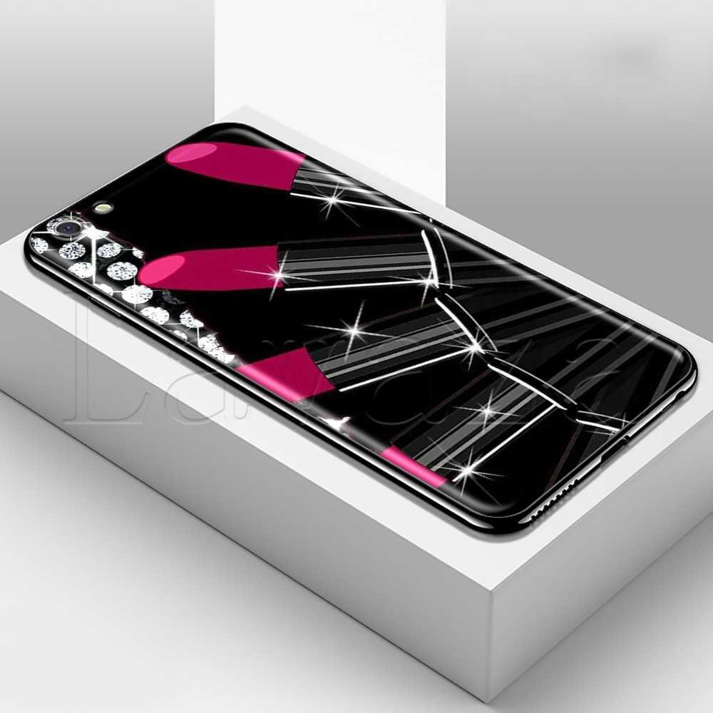 Lavaza Tavolozze Trucco Tavolozze strumenti Molle Del Silicone di Caso per il iphone 11 Pro XS Max XR X 8 7 6 6S Plus 5 5S SE