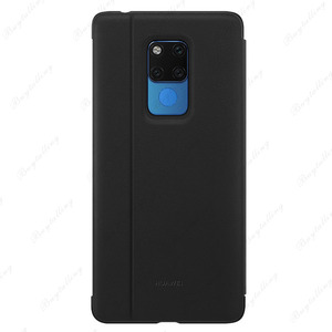 Image 3 - Original Huawei mate 20 X case Ultra Slim PU Leather Case For Mate 20 X  Window Sleep Wake up Flip Cover Mate 20X phone Cases