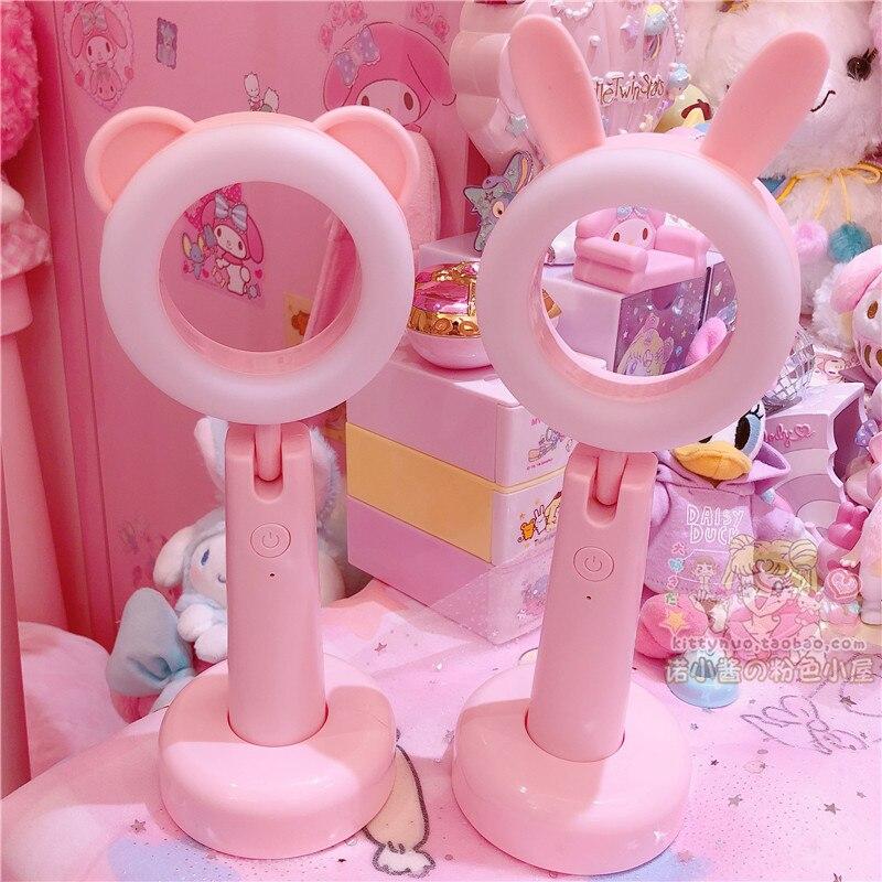 Pink Bear & Rabbit Night Lamp 2