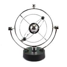 Rotation Perpetual Motion Swing Celestial Globe Newton Pendulum Model Kinetic Orbital Revolving Gadget Home Decor Craft Ornament