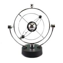 Rotação movimento perpétuo balanço globo celestial newton pêndulo modelo cinética orbital giratório gadget decoração para casa artesanato ornamento