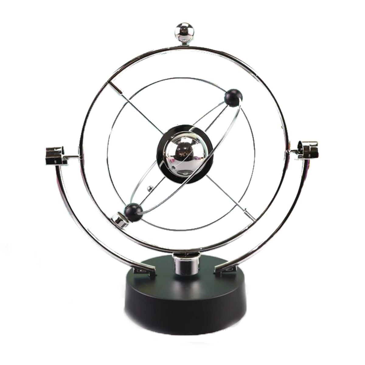>Rotation Perpetual Motion Swing Celestial Globe Newton Pendulum Model Kinetic Orbital Revolving Gadget <font><b>Home</b></font> <font><b>Decor</b></font> Craft <font><b>Ornament</b></font>