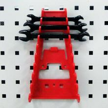 Multi-function Wrench Holder Multi-slot Plastic Hanger Spanner Holder Wall Mounted Storage Tray Socket Storage Rack Tools