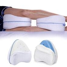 Подушка для ног из хлопка с эффектом памяти, для спины, бедер, ног, поддержки колена, для здоровья шейки матки, подушка для ног, Прямая поставка