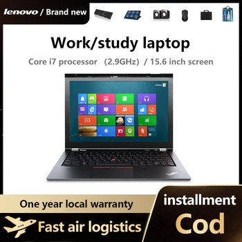 Lenovo Notebook Computer, light and thin portable i3 i5 i7 students office workers hand-held  only show game book play Ga 5