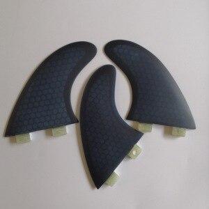 Image 5 - FCS G5 surf fin fiberglass honey comb surf fins/ new arrival FCS surfboard tri fins