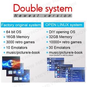 Image 3 - ダブルシステム Linux レトロビデオゲームコンソール 2.8 インチの ips 画面ポータブルハンドヘルドゲームプレーヤー RG300 32 ギガバイト TF 13000 古典的なゲーム
