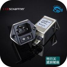 1 шт. SCHAFFNER FN9263-3-06 новая мощность EMC фильтр хвостовое гнездо переключатель