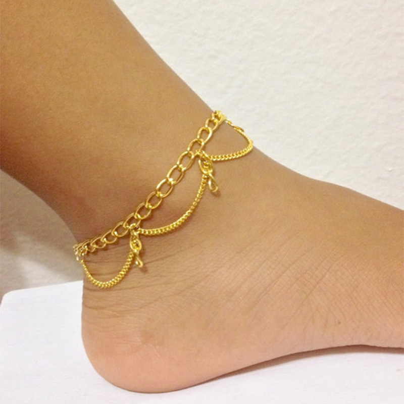 Exquisite personality woman sexy ankle beautiful girl wild jewelry woman anklet jewelry