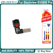 100% 新のためのオリジナルフロントカメラblackview BV6800プロフロントカメラ8.0MP修理交換アクセサリー部品