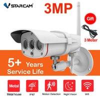 Vstarcam-cámara de seguridad IP C16S HD de 3MP, Wifi, Onvif, 1080P, impermeable, IP67, para exteriores, inalámbrica, 2MP, CCTV, visión nocturna