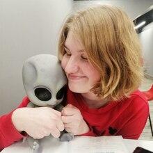 Poupée bébé extraterrestre en Silicone de 14 pouces, réaliste, Reborn, poupée extraterrestre, peinture détaillée à la main, corps entier, jouet en vinyle