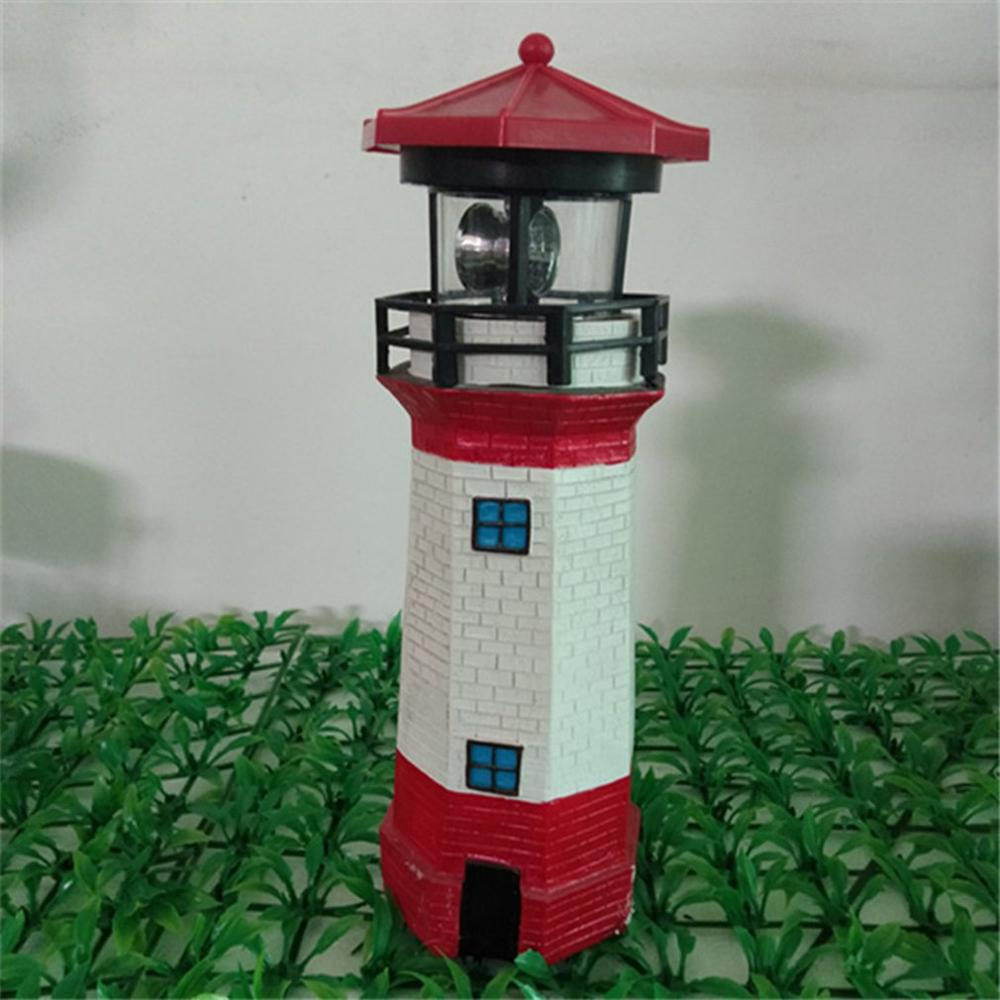 Lighthouse Outdoor Yard Decoration