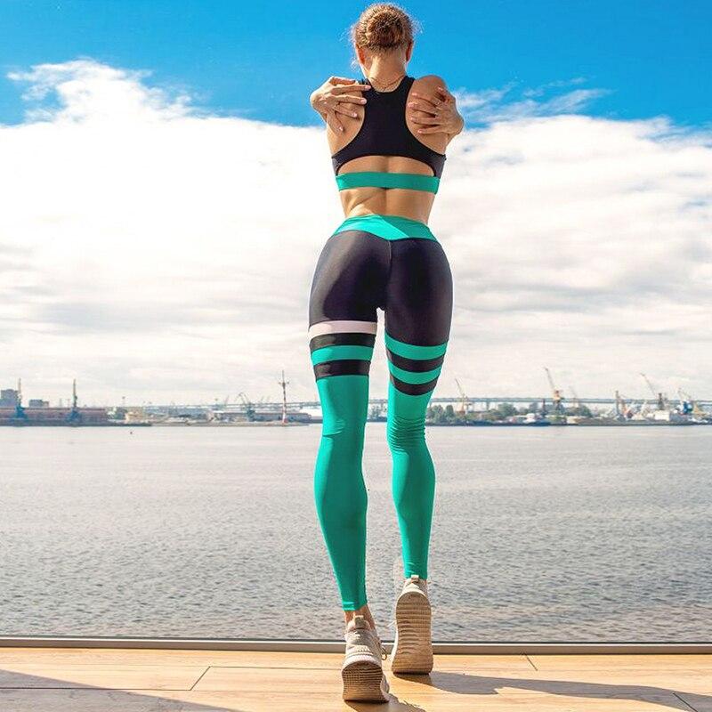 High-Waist Yoga Sportswear Outfit Sports Clothing