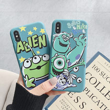 XS MAX Leuke Soft Case Voorzien Cartoon Fundas voor iPhone X/XR Cover Silicone Back Coque voor iPhone 8 /7/6S Plus 8P 7P 6SP 6P Case(China)