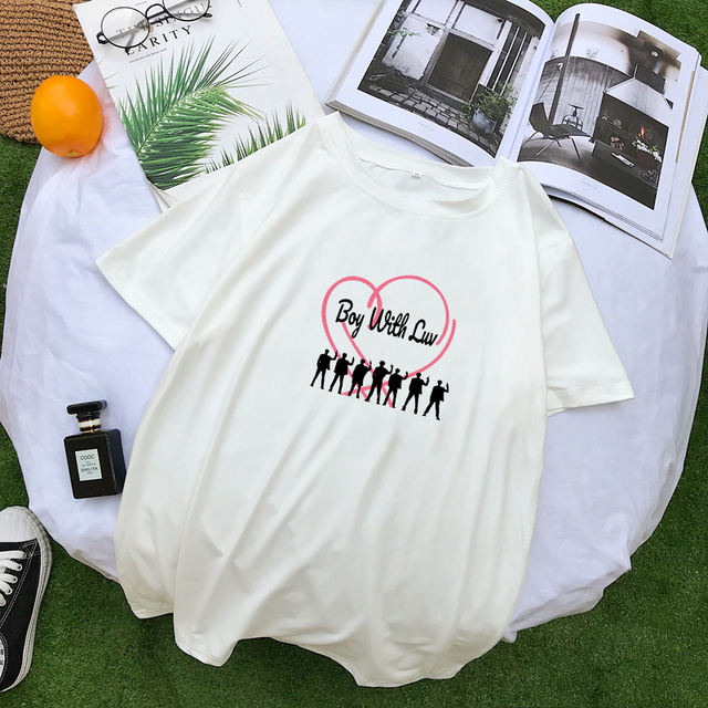BOY WITH LUV THEMED T-SHIRT (5 VARIAN)
