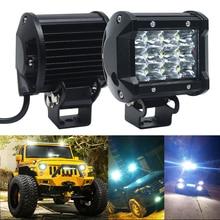 цена на 4 Inch LED Work Light 12 SMD Spotlight 36W Driving Fog Lamp Spot Beam for Offroad Boat Car Tractor Truck 4x4 SUV ATV 4WD 12V 24V