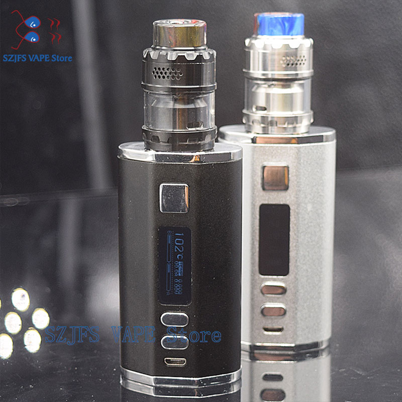 Electronic Cigarette Vapor Vape Kit Vape Kit DR200W Box Mod 50w-200w With 4400mah 2 Build-in Batteries 3.0ml 0.3ohm Vaper Tank