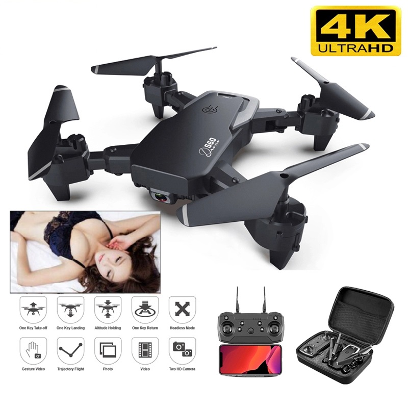 2020 Mini S60 Drone 4k HD Wide Angle Camera Real-time Transmission Helicopter Best Gift For Children