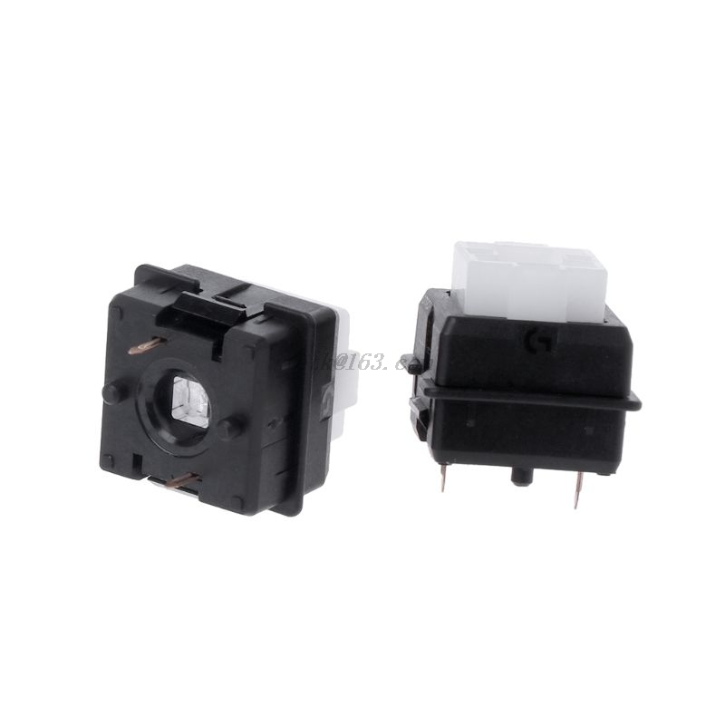 2Pcs Original Romer-G Switch Omron Axis for <font><b>Logitech</b></font> G910 <font><b>G810</b></font> G413 K840 RGB Axis Keyboard Switch image