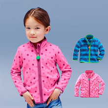 Warm Soft Polar Fleece Child Coat Baby Boys Girls Jackets Windproof Children Outerwear Clothing Kids Outfits For 1-6 Years Old цены