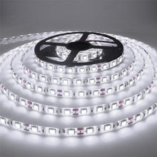 1m 5m 10m tira conduzida 2835 ip65 impermeável 60led/m dc12v flexível conduzida tira de luz rgb branco quente fresco led ruban luces led tiras