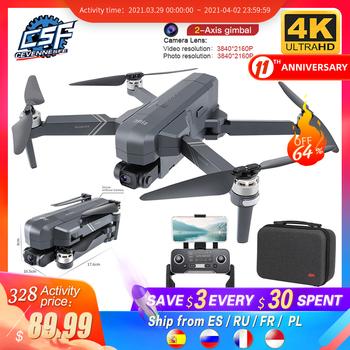 2020 nowy F11 PRO profesjonalny 4K kamera HD Gimbal Dron bezszczotkowy fotografia lotnicza WIFI FPV GPS składany zdalnie sterowany Quadcopter drony tanie i dobre opinie CEVENNESFE CN (pochodzenie) 1500M 1080p FHD 4K UHD Mode2 4 kanały Oryginalne pudełko STARSZE DZIECI 8 lat 14 lat Metal