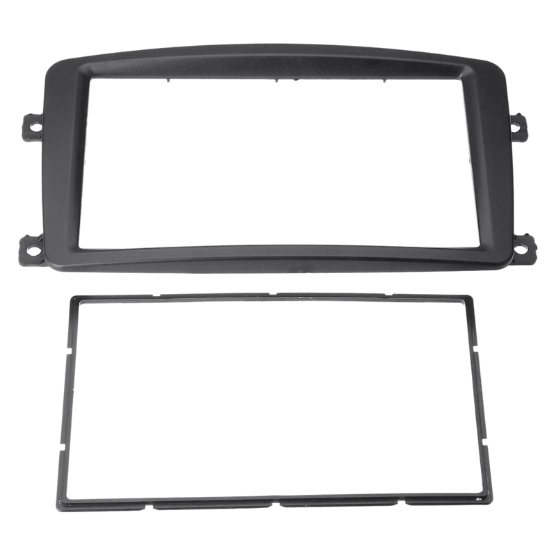 2Din Car Stereo Radio Fascia Panel Frame CD DVD Panel Audio Frame for Mercedes BENZ C CLASS W203 2002-2004