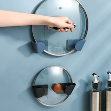 Lid-Holder Cooker-Stand Cutting-Board Kitchen Pot Wall-Mounted Multi-Function Adjustable