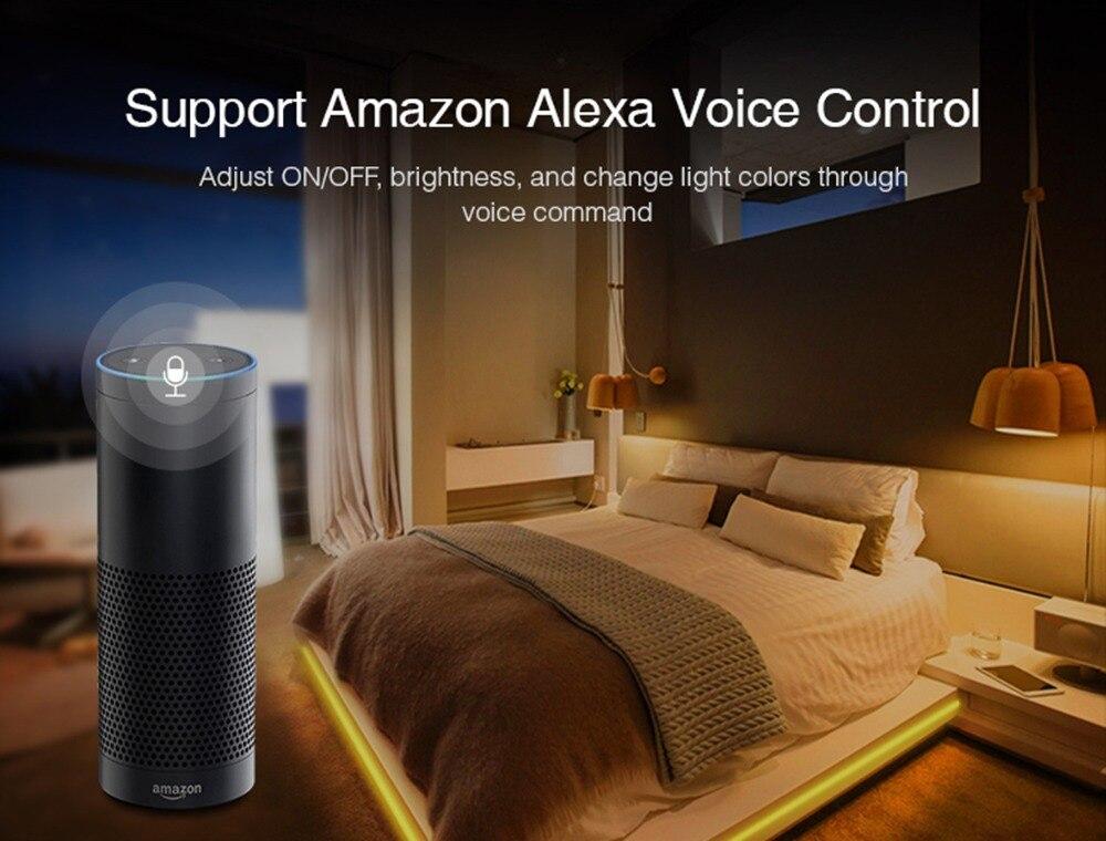smart home LED 6W bulb RGB+CCT lColour LED Bulbs Compatible with Amazon  Echo Plus Echo Show Alexa SmartThings Lightify