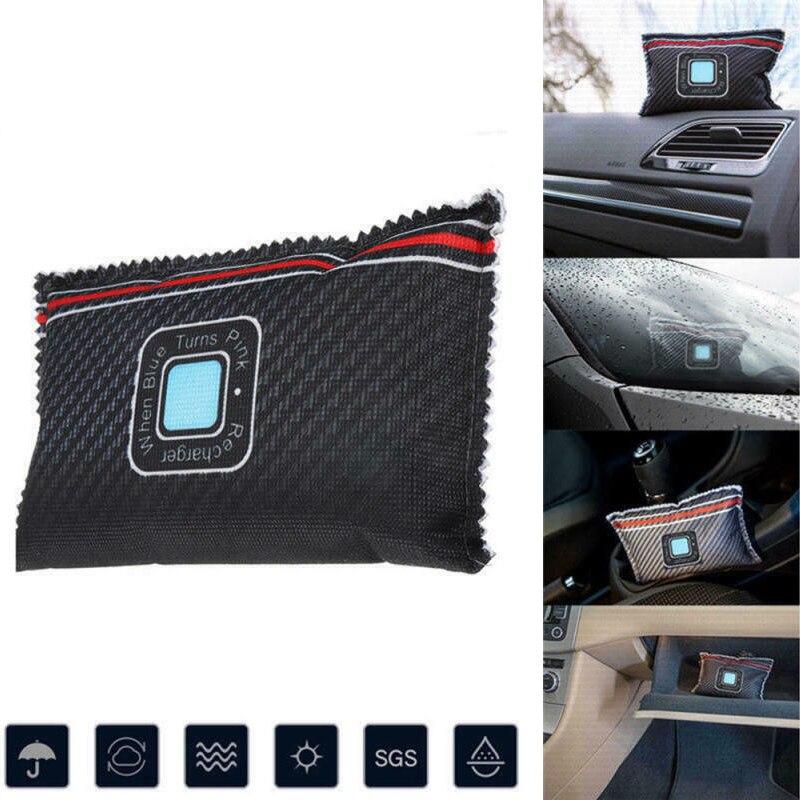 Car Desiccant Dehumidifier Anti Mist Moisture Absorbing Bamboo Charcoal Bag Effective Dehumidification Bags