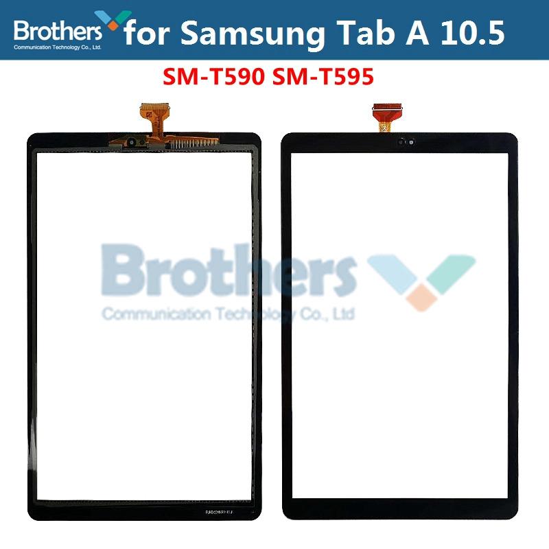 Original Tablet Touch Panel For Samsung Galaxy Tab A 10.5 T590 T595 Touch Screen Digitizer SM-T590 SM-T595 LCD Glass Sensor Top