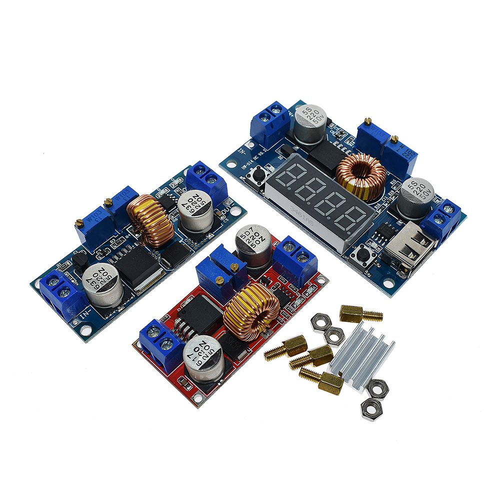 Original 5A 12A DC to DC CC CV Lithium Battery Step down Charging Board Led Power Converter Lithium Charger Step Down Module 2