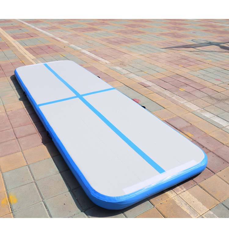 Beautiful Inflatable Gymnastics Mat 300*100*10cm Air Track Mats With Electronic Pump Top Quality Inflatable Sport Mattress Cheap