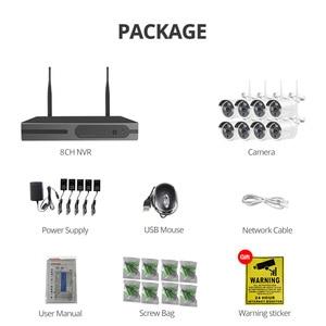 Image 5 - Wheezan Security Camera System 1080P 8CH Wireless NVR Kit CCTV Wifi Home Video Surveillance IP Camera Set Outdoor Waterproof P2P