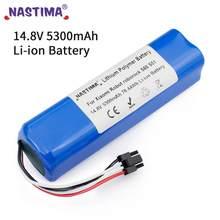 Nastima 5300mAh lithium-ionen (Li-Ion) batterie für Xiaomi Mijia Roboter Staubsauger 2nd roborock S50 S51 S55 (CE Genehmigt)
