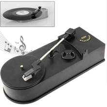 Genérico Retro Mini USB Turntable Vinil LP Record Player com Speaker Retro Fonógrafo Converter para MP3/WAV Plug and jogar(China)