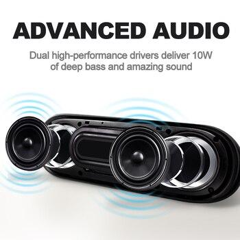 Bluetooth Speaker Support TF FM Radio Subwoofer Box 2