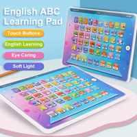 IQ-Tableta inglesa con almohadilla en Y, juego de Formación educativa, aprendizaje, estudio, Chico, ordenador portátil, regalo