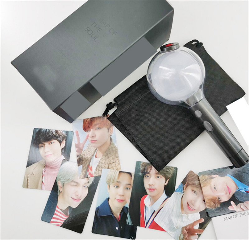 BTS LightStick Army Bomb + free Photo Cards