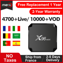 X96 MINI France IPTV Italy Arabic Portugal Turkey Android 7.1 1G+8G/2G+16G Spain Italian Qatar ITHDTV Box