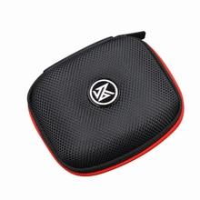 KZ funda para auriculares intrauditivos, estuche de almacenamiento portátil para auriculares, accesorios para auriculares, bolso de almacenamiento de casco