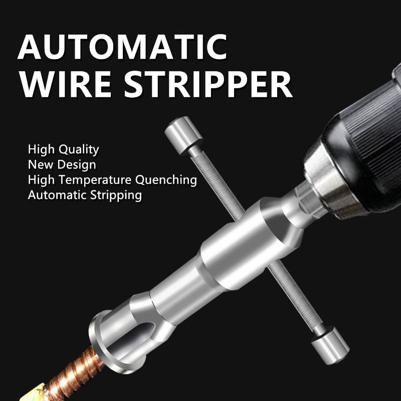 Электрический/ручной универсальный инструмент для зачистки проводов устройство для зачистки проводов автоматический скручивающий соедин...