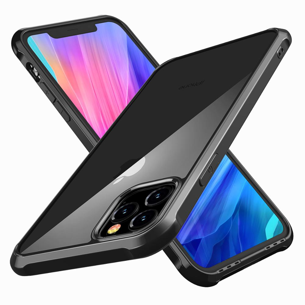 for iPhone 11 case Luxury Pro iphone pro Max 360 Protect Soft TPU + PC Plastic Cover cover