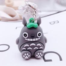 Hot New TOtoro Keychain Women and Men Key Chain Cute Anime Cartoon Kids Key Ring Gift Porte Clef